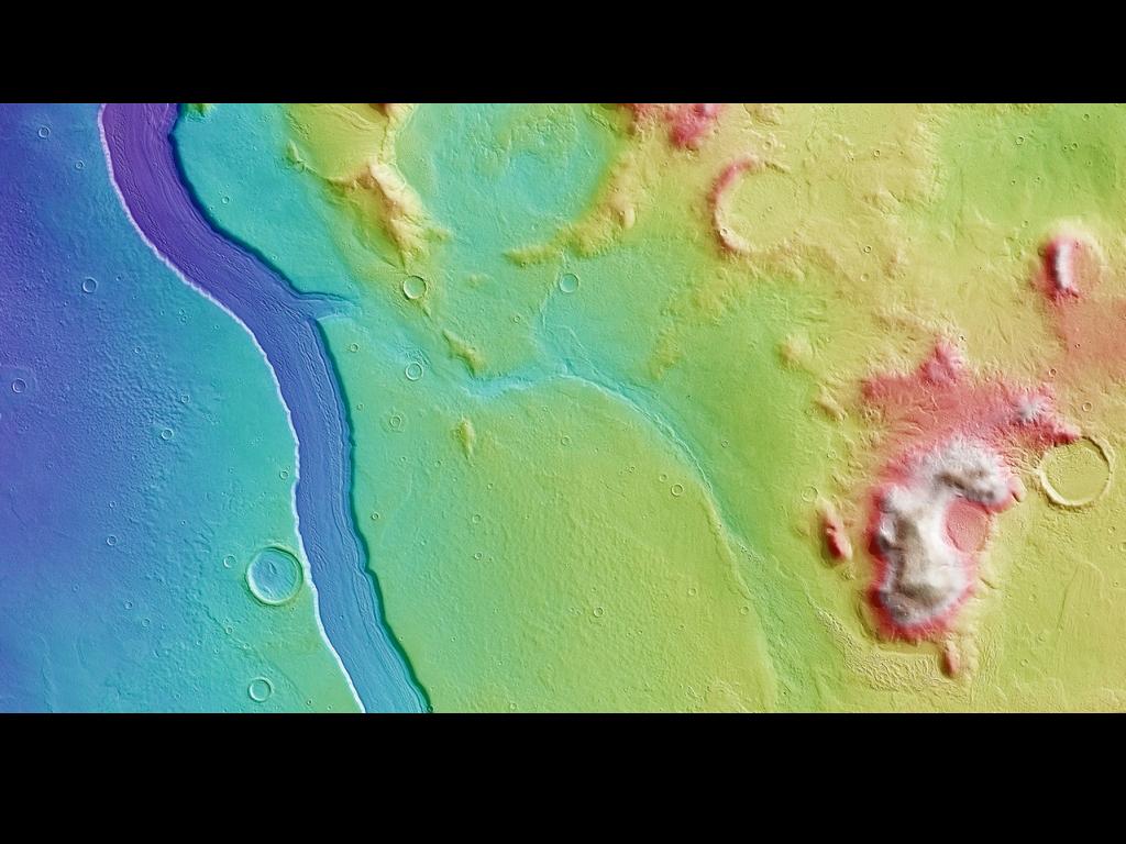 На Марсе найдены следы ручьев!