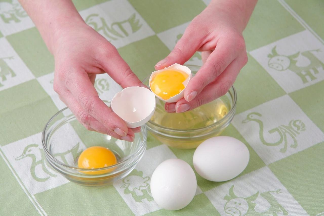 Можно на диете пить сырые яйца